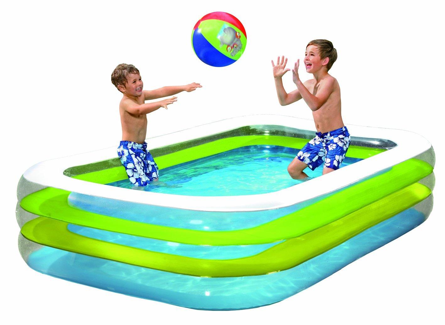 Swimmingpool aufblasbar rechteckig  Planschbecken rechteckig - Die Top 5 der rechteckigen ...